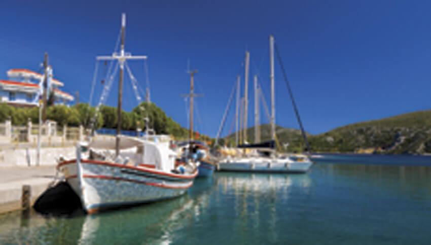 Лодочные прогулки по морю в Греции l Медицинский туризм в Европе