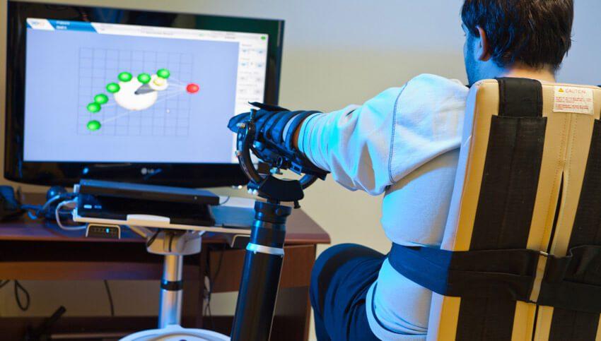 Роботизированная система реабилитации верхних конечностей